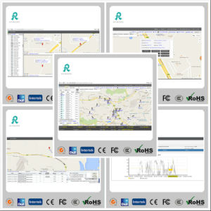 GPS Tracking Fleet Management Software with Multi Reports GS102 pictures & photos