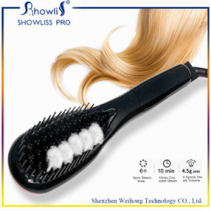 100-240V Temprature Controled Hottest Ceramic Electric Hair Straightener Comb