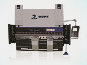 We67k 500t/6000 Dual Servo Electro-Hydraulic CNC Bender