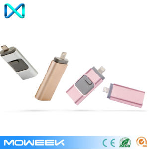 3 in 1 OTG USB Flash Drive for iPhone Pen Drive pictures & photos