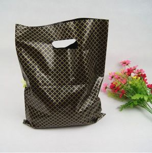 Custom Die Cut Plastic Shopping Bags with Logo pictures & photos