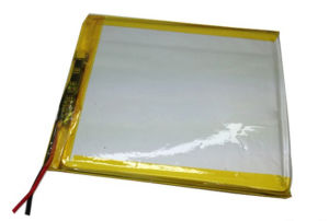 Rechargeable Li Polymer Battery 3.7V 406080 3200mAh Li-ion Lithium Ion Battery pictures & photos