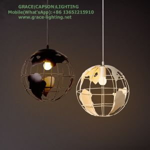 Iron Track Creative Earth Pendant Lights (GD-H612-1) pictures & photos