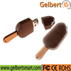 Custom Shape Simulation PVC Ice Cream USB Flash Drive for 1GB to 64GB pictures & photos
