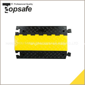 5 Channel Rubber Cable Protector/Traffic Cable Protector (S-1135) pictures & photos