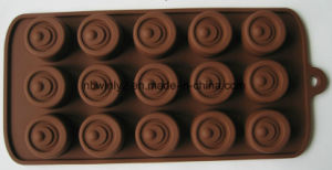 15 Holes Eye Silicone Chocolate (WLS1010) pictures & photos