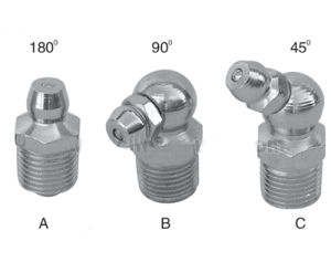 Automatic Lubrication Metric Thread Steel Grease Nipple pictures & photos