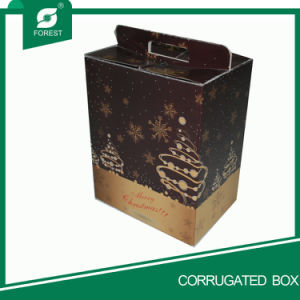 Custom Design Corrugated Wine Pbox pictures & photos