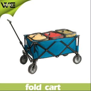Daily Utility Grocery Luggage Folding Pull Cart with Wheel pictures & photos