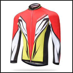 2016 Wholesale Custom Breathable Cycling Jersey Long Sleeve, OEM Bicycle Jersey for Men pictures & photos