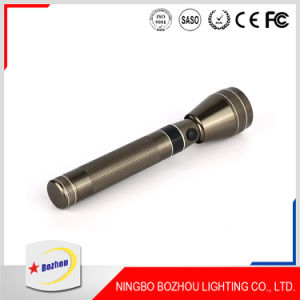 Factory Price Gold High Power Rechargeable LED Torch Flashlight pictures & photos