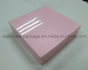 Princess Style Top Quanlity Pink Wooden Jewelry Packing Box Jewelry Holder pictures & photos