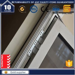 Aluminum French Casement Windows with Tempered Glass pictures & photos