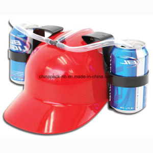 Drinking Hard Hat Coke Cap Lazy Essential Soda Helmet Drink Helmet Drinking Set Hat pictures & photos