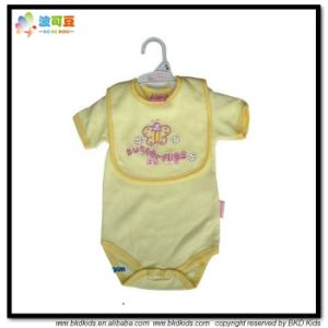 Yellow Color Baby Garment High Quality Newborn Gift Sets pictures & photos