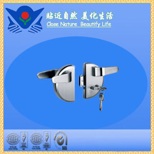 Xc-D2016 High Quality Furniture Hardware Stainless Steel Glass Door Lock pictures & photos