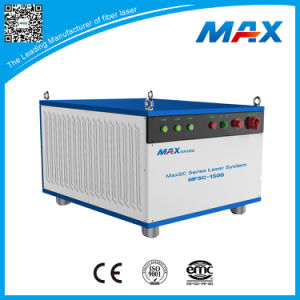 China Max 1500W Continuous Wave Fiber Laser for Cutting Metal pictures & photos