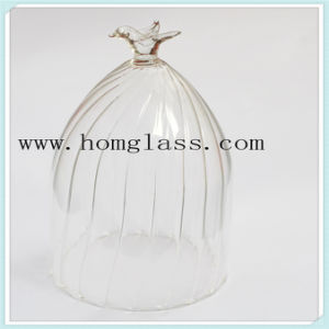 High Quality Borosilicate Glass Wine Bottle Apothecary Jar Castors pictures & photos