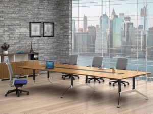 Black Customized Metal Steel Office Conference Desk Frame with Ht89-3 pictures & photos