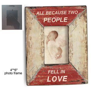 Antique Lovely Wood Hand Painted Photo Frame pictures & photos