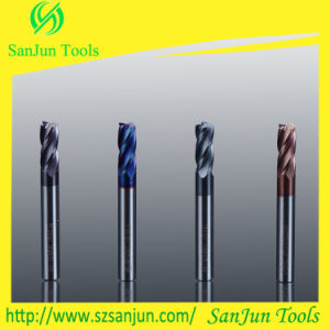 6mm Milling Cutter Carbide Corner Radius End Mill for Steel pictures & photos