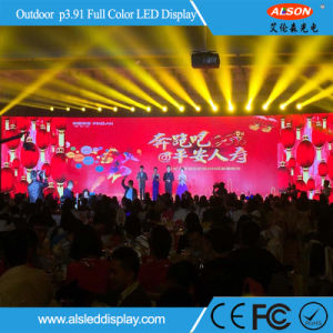 Outdoor Rental P3.91 LED Flat Screen TV for Live Showing pictures & photos