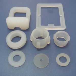 Transparent Clear Silicone Rubber Parts pictures & photos