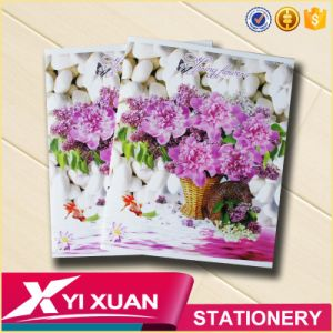 Cheap Soft Cover Stapled A4 A5 Notebook School Student Exercise Book pictures & photos