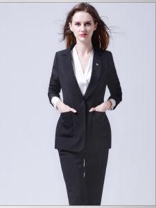 Made to Measure Lady Fashion Black Suit Blazer