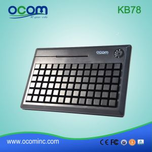 Kb78 PS/2 Programmable 78 Keys POS Keyboard pictures & photos