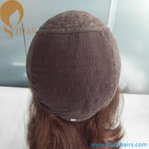 "10"" Virgin Human Hair Lace Front Jewish Kosher Wig pictures & photos"