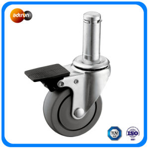 Light Duty PU Wheel Stem Casters pictures & photos