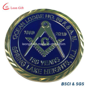 Factory Customized Masonic Challenge Coin pictures & photos