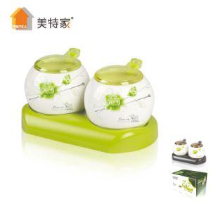 6322 Metka Household Kitchenceramic Cruet Ceramic Spice Jar 2 pictures & photos