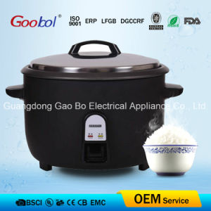 Black Color Big Rice Cooker with Black Panel & Ear pictures & photos