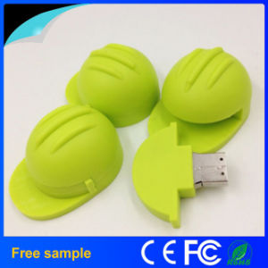 Custom Promotional Laborer Safe Helmet USB Flash Drive pictures & photos