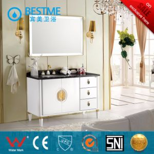 Modern Design Bathroom Cabinet with Side Cabinet (BF-8067) pictures & photos