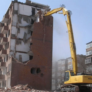 Excavator Kamotsu450 High Reach Boom for Demolition pictures & photos