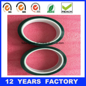 Free Sample! ! ! Imported Silicone Pressure Sensitive Adhesive Green Pet Adhesive Polyester Tape pictures & photos