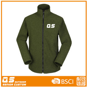Olive Sports Warm Long Sleeve Jacket for Women pictures & photos