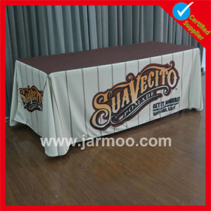8FT Polyester Custom Printing Trade Show Display Table Cover pictures & photos