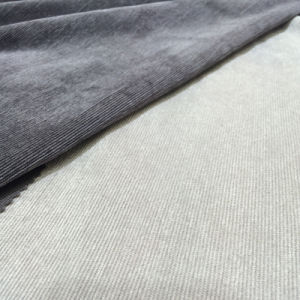 Polyester Woven Solid 21 Wales Corduroy Fabric