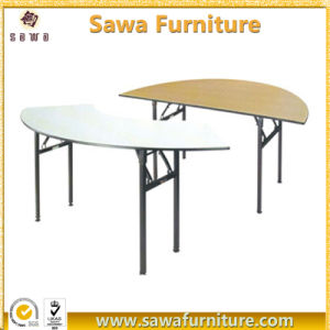 Wholesale Foldable Banquet Half Round Tables pictures & photos