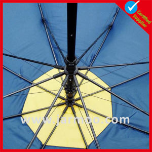 Custom Logo Advertising Sun Beach Umbrella pictures & photos