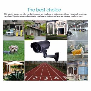 720p HD 1.0 Mega Pixel WiFi Cam, Wireless P2p Camera, HD-Sdi Onvif Support (IP-8805H) pictures & photos