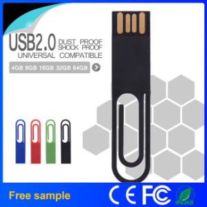Promotional Gift Waterproof Paper Clip USB 2.0 Memory Stick
