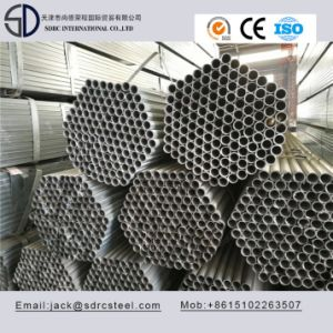 Q235 S235 A53 Pregalvanized Round Carbon Steel Pipe for Building Materials pictures & photos