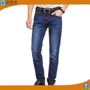 2017 Spring High Quality Men′s Cotton Stretch Denim Pants pictures & photos