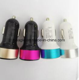 2 USB Car Battery Charger for Smartphone Dual USB Car Charger pictures & photos