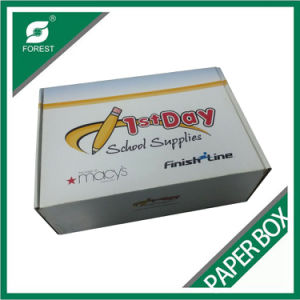 White Custom Printed Corrugated Shipping Box pictures & photos